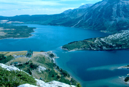 Though less well known than Jasper and Banff National Parks, Waterton Lakes